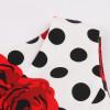 Летнее платье из хлопка для полных женщин MN202