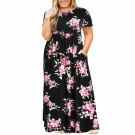 Женское длинное платье для полных MN200-5