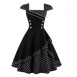 Женское платье большого размера в стиле ретро ММ197-1
