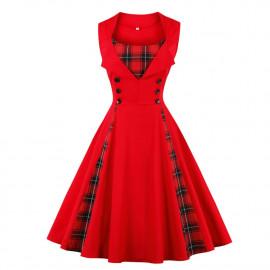 Женское платье большого размера ММ196-1