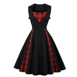 Женское платье большого размера ММ196