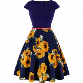 Летнее платье для пышных девушек MN192-3