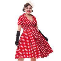 Женское винтажное платье большого размера ММ175