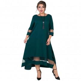 Платье на праздник для полных женщин MN017
