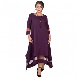 Женское вечернее платье больших размеров MN017-2